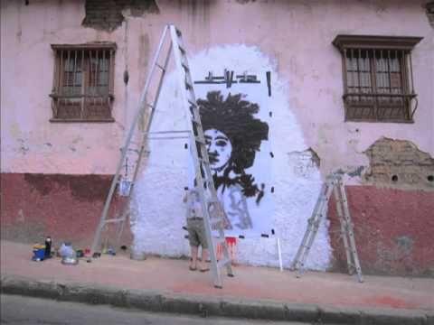 Fin DAC – Blackjack New Mural @ Bogota, Colombia (Video)