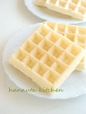 タピオカ粉でもちもちワッフル mochi waffles