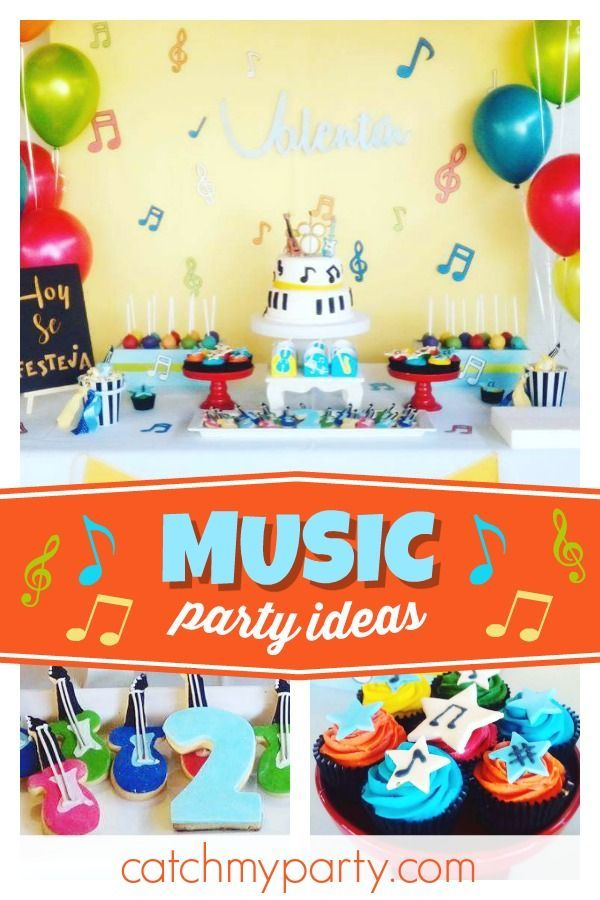 Muscial Birthday Musical Birthday Party In 2019 Featured
