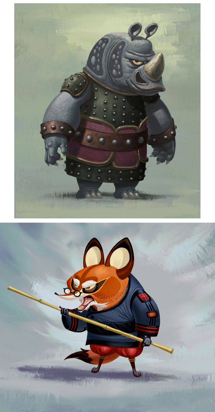 Kung Fu Panda by Bill-Dely_2