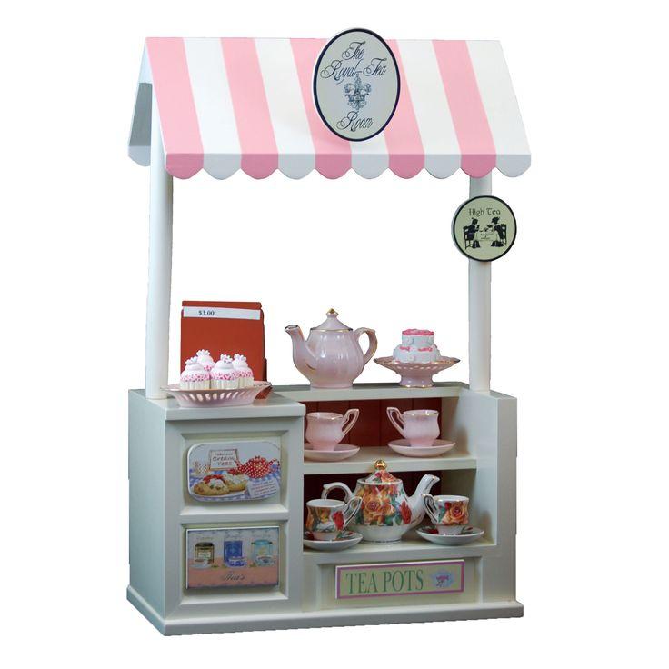 The Queenu0027s Treasures Exclusive Tea Shoppe Counter