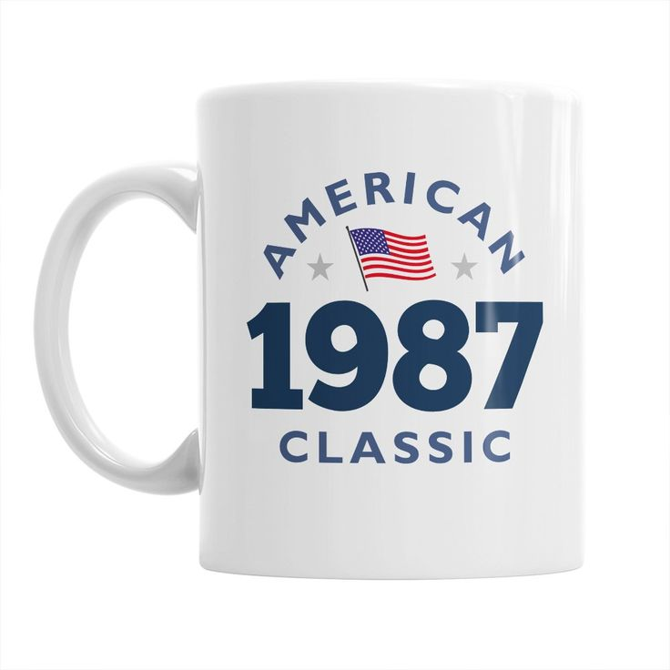 30th Birthday, 30th Birthday Gift, 30th Birthday Gifts For Men, 30th birthday Gifts For Women, 1987 Birthday, Vintage 1987, Coffee Mug. 30th Birthday Coffee Mug, makes the perfect 30th birthday gift. Mainly Mugs is proud to offer our original and exclusive, vintage, 30th Birthday design on our quality 11oz, white ceramic mug.
