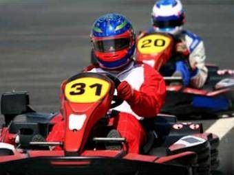 Grand Prix Raceway - $20 for 2 Twenty Lap Races at Grand Prix Raceway Indoor Karting Center ($40 Value)
