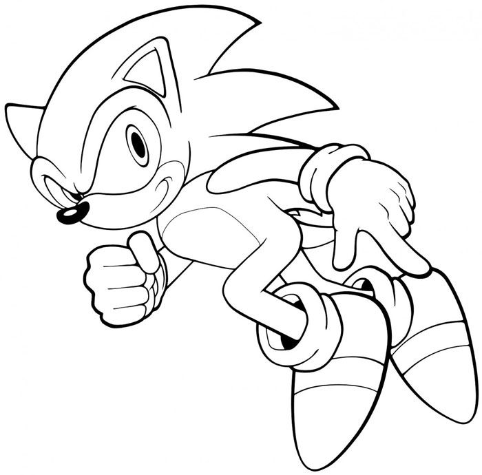 Sonic 10 Coloring Pages Cartoon Coloring Pages Detailed Coloring Pages