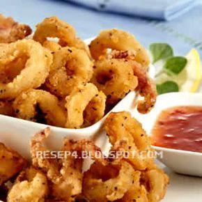 resep cumi goreng tepung - http://resep4.blogspot.com/2013/05/resep-cumi-goreng-tepung-calamari.html