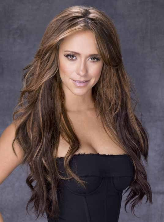 Jennifer Love Hewitt. I've always loved her long hair, but now that my hair is growing out I realize how much a pain it is.