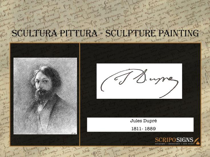 Jules Dupré - #scripomarket #scriposigns #scripofilia #scripophily #finanza #finance #collezionismo #collectibles #arte #art #scripoart #scripoarte #borsa #stock #azioni #bonds #obbligazioni