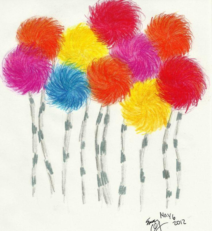 Truffula Trees by Hufflepuff-Disney.deviantart.com