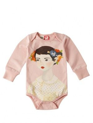 I LOVE it: Buy Rock Your Baby Flowers In Her Hair Bodysuit