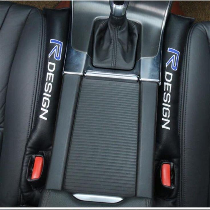 Untuk volvo xc60 s60 s40 s80 v40 v60 xc90 kursi gap diadaptasi khusus anti bocor steker mobil styling 2 pcs