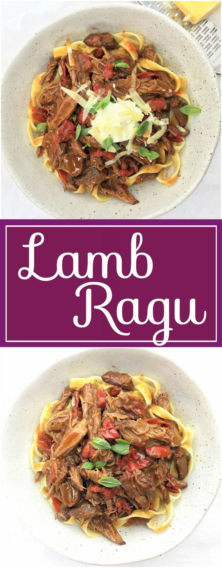 Lamb Ragu with a rich paprika & capsicum sauce | pulled | shredded | slow cooked