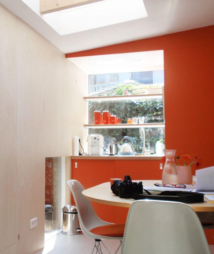 Interior view, kitchen
