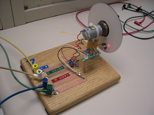 Dc Motor Control Laboratory Design Labview Project