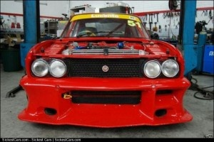1971 Fiat 124 BC Sports Coupe Racecar  - http://sickestcars.com/2013/05/21/1971-fiat-124-bc-sports-coupe-racecar/