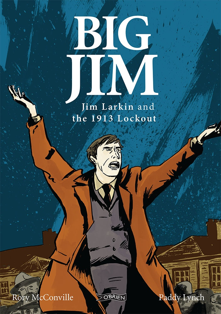 The events of Dublin 1913 are brought to life in this gripping new graphic novel. 'Big Jim' Larkin, charismatic, impatient and dynamic, urged and organised the ordinary workers into trade unions. Opposing him was a powerful business world, led by the strong-willed William Martin Murphy. The Lockout was all-out war as the workers of Dublin took on the might of the employers. The story of one of the most significant social and political events in Irish history as you've never seen it before.