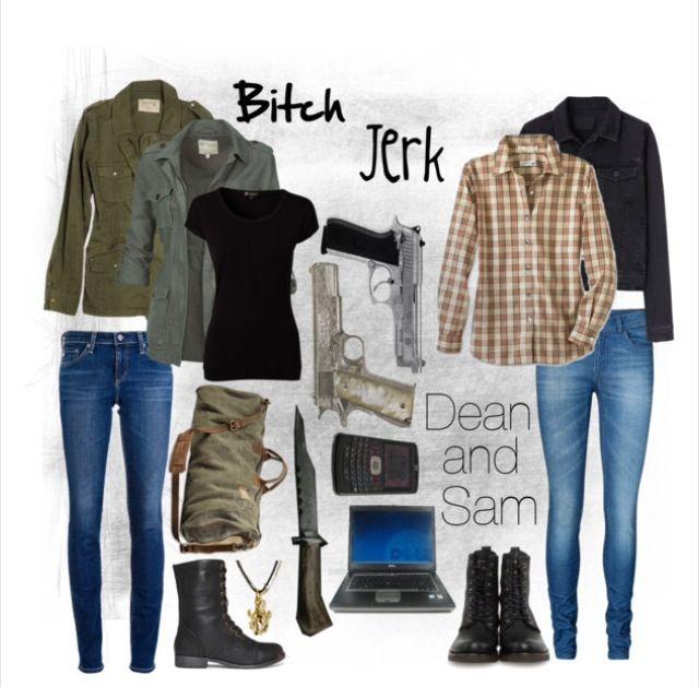 Dean Winchester - Sam Winchester - supernatural inspired fashion