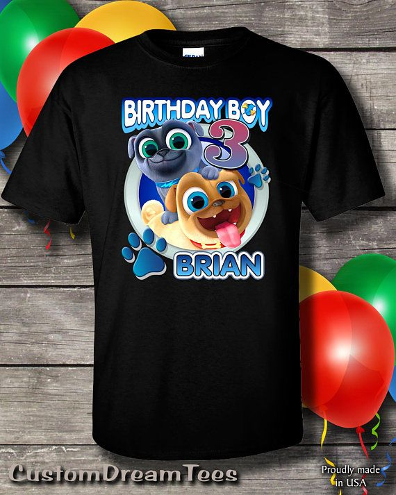 Puppy Dog Pals Birthday Shirt Disney Bingo Rolly Almost All Our Designs Are Printed On