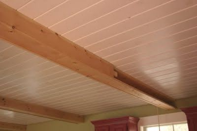 17 best images about ceiling on pinterest cottages Faux wood ceiling planks