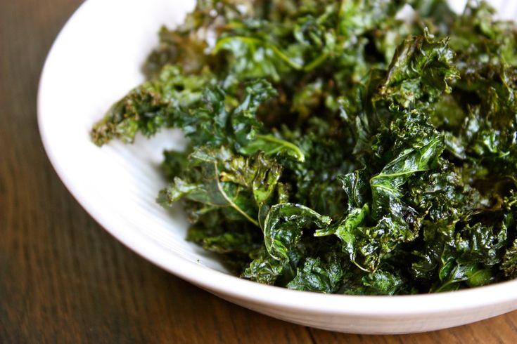 Recette de chips de kale pour perdre du poids