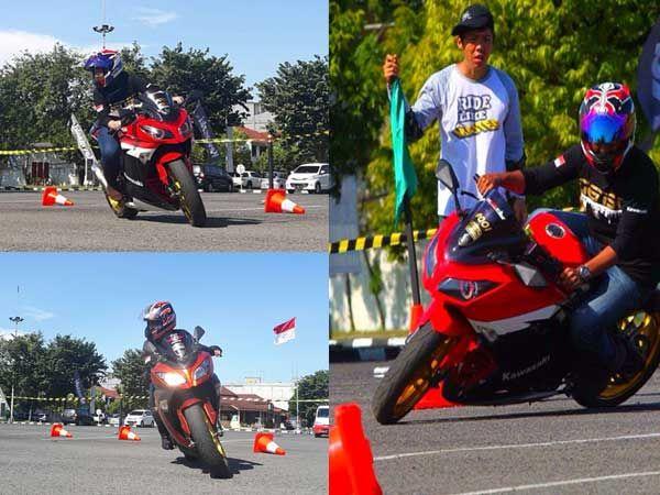 Komunitas Motor Ikuti Safety Riding Agar Berkendara Aman