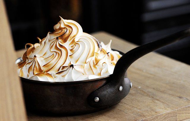 Despite its name, baked Alaska is actually thought to originate from Norway. Here, Tom Aikens presents his baked Alaska recipe, a stunning take that will truly wow at the end of a meal.