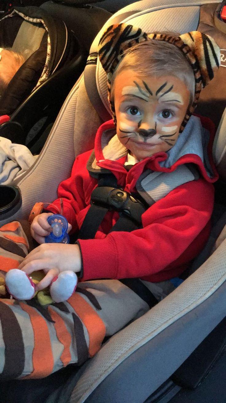 Daniel Tiger DIY Halloween Costume