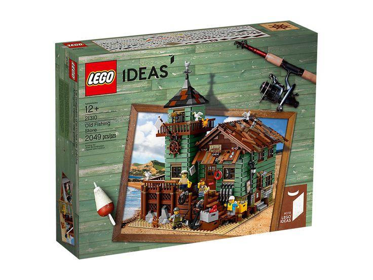 $180 / Le vieux magasin de pêche - 21310 | Ideas | LEGO Shop