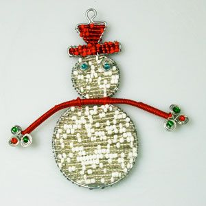 Check out these stunning African Beaded Christmas Ornaments at www.christmaswithaheart.com