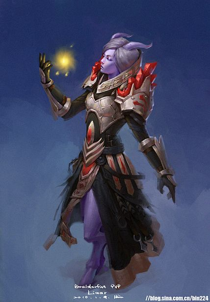 Vatras Dirraalalt, the High Drakar Priestess