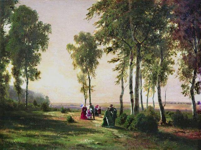 Προς το Δάσος. (1869)