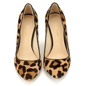 cheetah flats! Weren't you looking for shoes like these? I saw some at Aldo today, I think they were $40-50