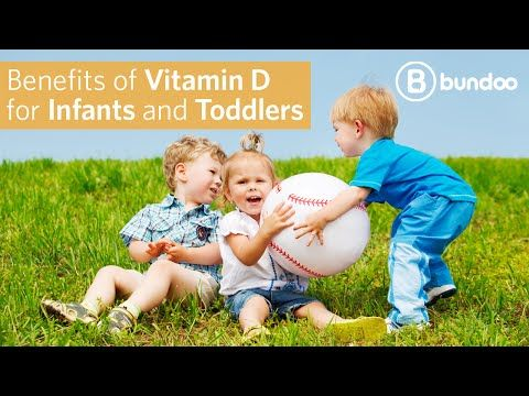 Benefits of Vitamin D for Infants and Toddlers - YouTube