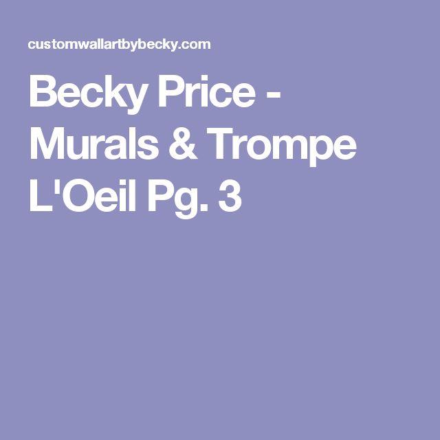 Becky Price - Murals & Trompe L'Oeil Pg. 3