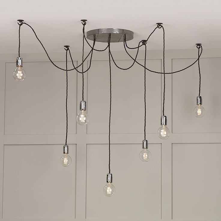 interesting bathroom light fixtures%0A Huckleberry   Light Cluster Pendant Lead Grey