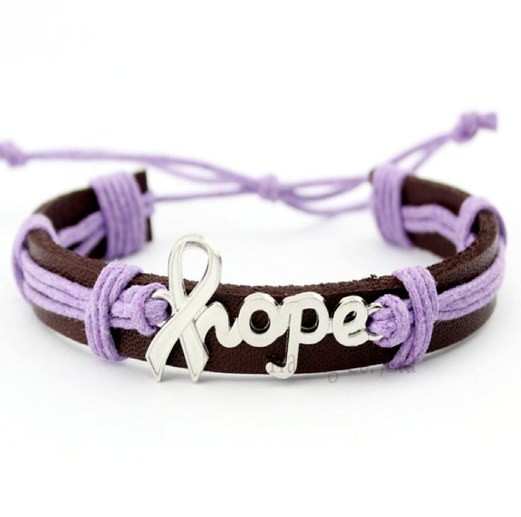Pancreatic Cancer Awareness And Uterine Leiomyosarcoma Bracelet For Men And Women