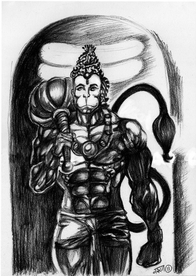 81 best lord hanuman images on pinterest hindus lord krishna and indian art. Black Bedroom Furniture Sets. Home Design Ideas