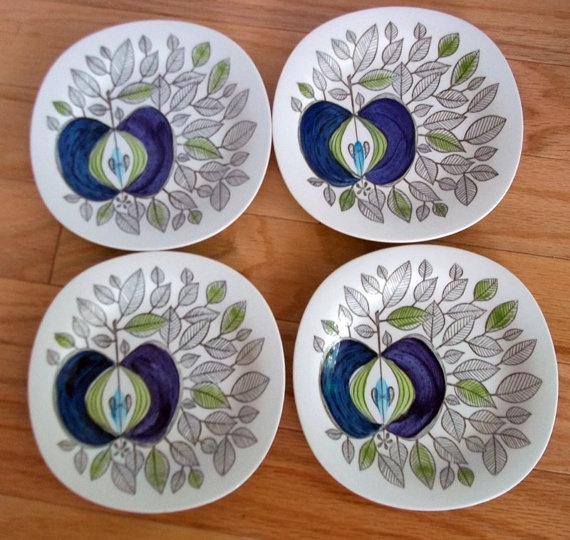 Love these plates...Marianne Westman Rörstrand of Sweden Eden Plate $75