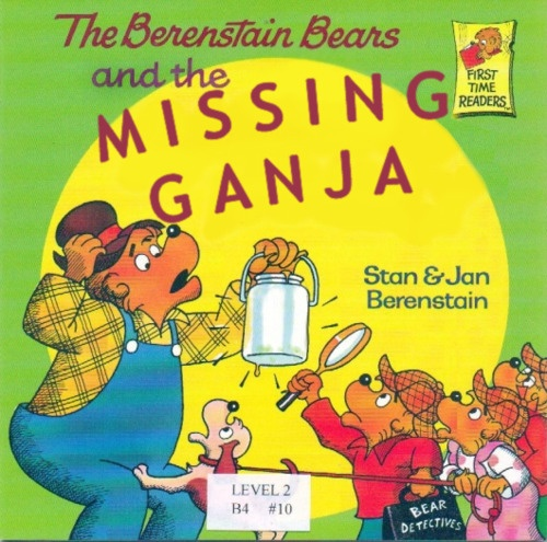 Berenstain Bears Old Book Cover : Best images about berenstain bears gone wrong on
