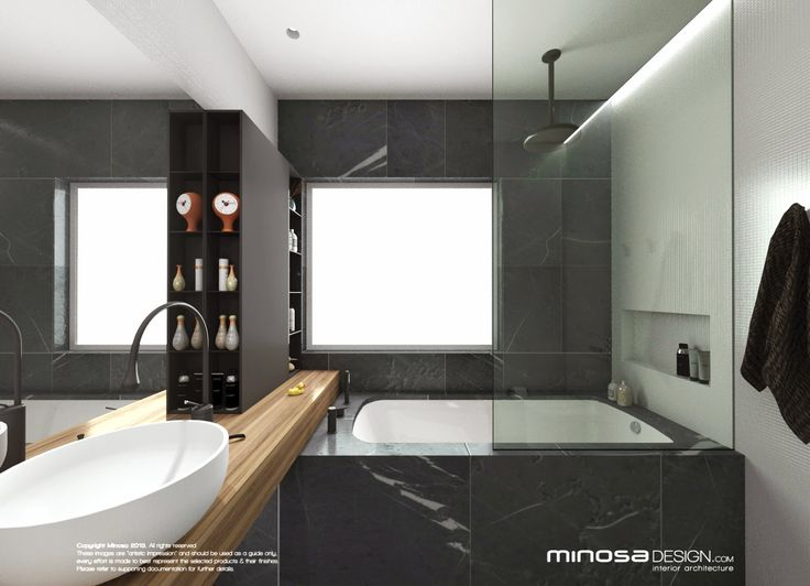 Minosa design bathroom design small space feels large for New bathroom small space