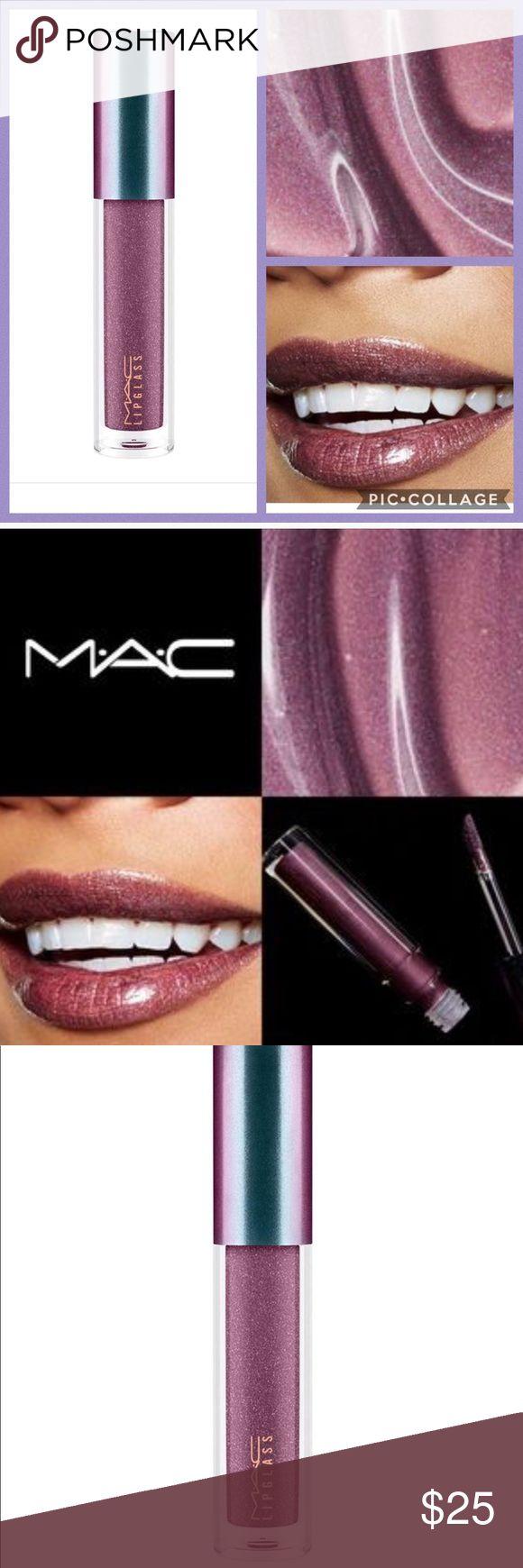 Mac Midnight Dip Lipglass New in box. Very rare and