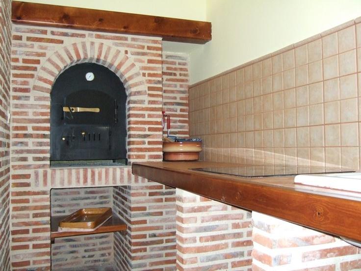 Detalle ladrillo r stico para horno duero yesca bodegas - Horno de ladrillo ...