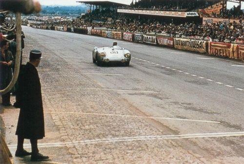 Porsche 550 Spyder Le Mans 1954 Vintage Porsche