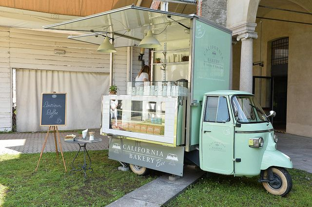 Cute Vintage coffee cart idea - PicChic by Vanity Fair | Flickr - Photo Sharing!