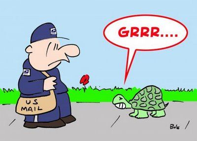 BALOO'S CARTOON BLOG: Mailman cartoon