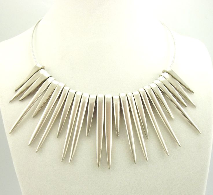 Fork Tines Silverware Necklace - Silverware Jewelry