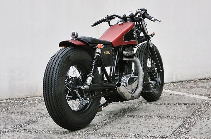 Perfect Suzuki Savage LS650 Bobber by Studio Motor #bobber #suzuki #motorcycles | caferacerpasion.com