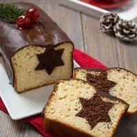 Plumcake di Natale con stella a sorpresa