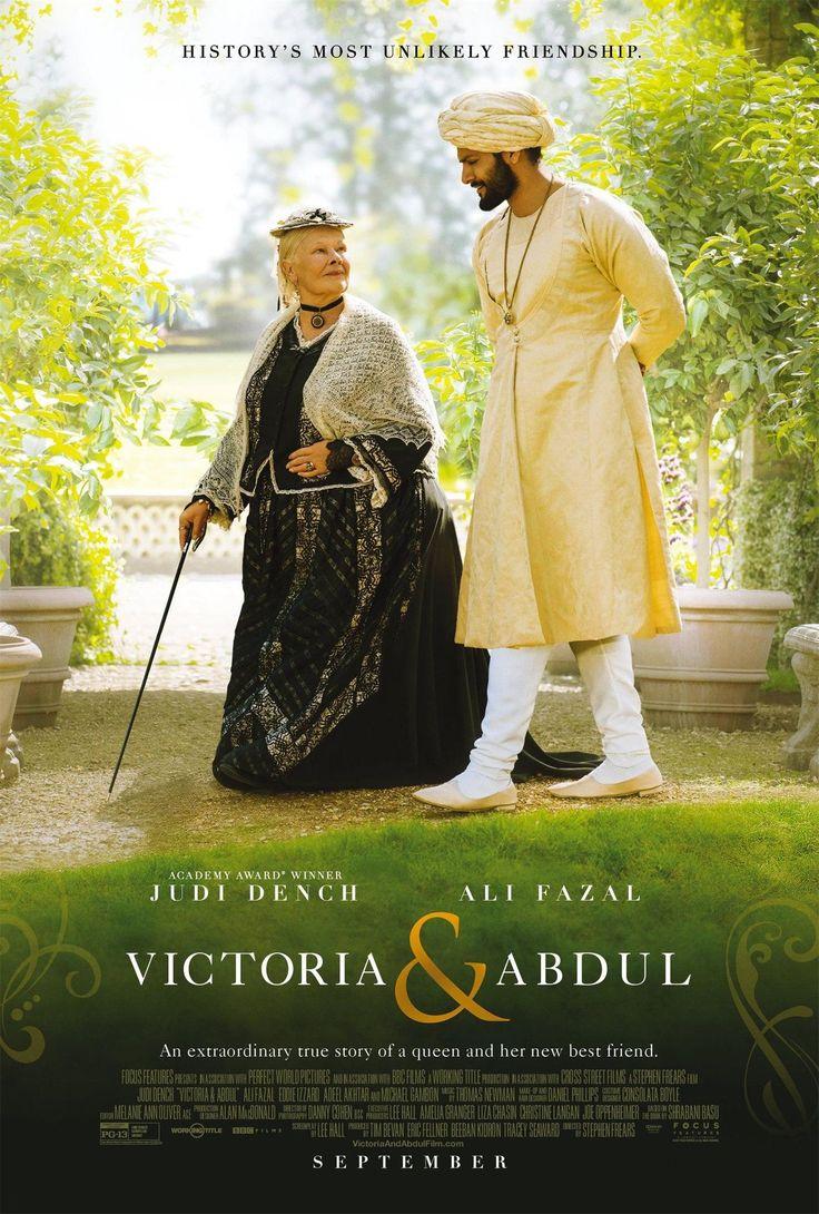 Джуди Денч и Али Фазал в исторической драме «Виктория и Абдул» (кадры и трейлер) В ноябре этого года на экраны выйдет биографическая драма, которая расскажет правдивую историю о невероятной дружбе индийского слуги Абдула Карима и британской королевы Виктории.
