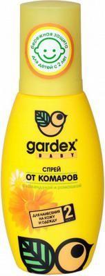 GARDEX Baby Спрей от комаров для детей с 2-х лет 100 мл  — 398р.