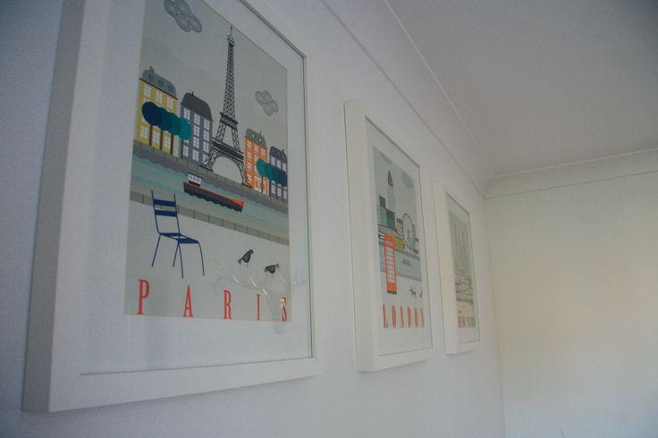 Ikea Paris, London, New York prints